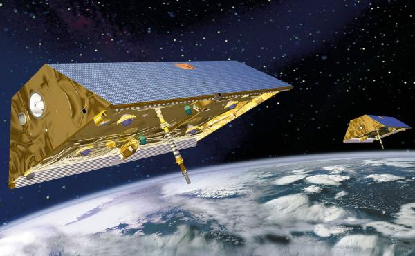 The Gravity Recovery and Climate Experiment, or GRACE, used a pair of satellites to measure water use in the world's aquifers.
