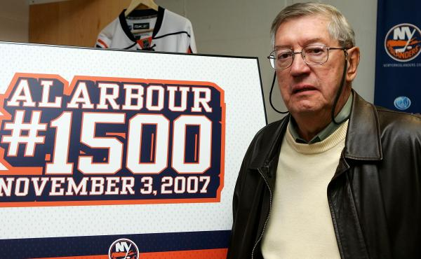 Al Arbour, the longtime coach of the New York Islanders, led the team to four Stanley Cup titles.