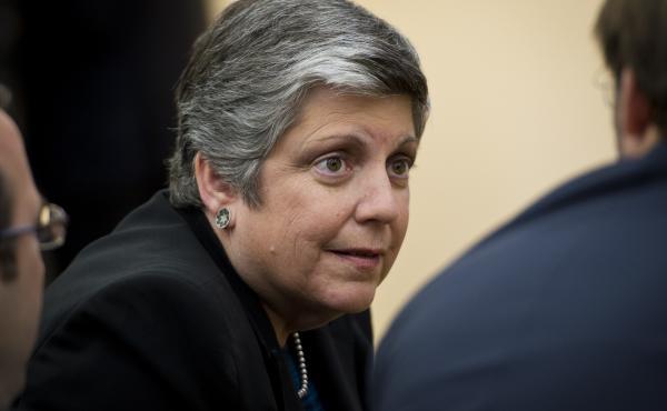 University of California President Janet Napolitano.