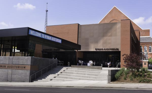 Nashville's historic Ryman Auditorium re-opens this week with a new look.