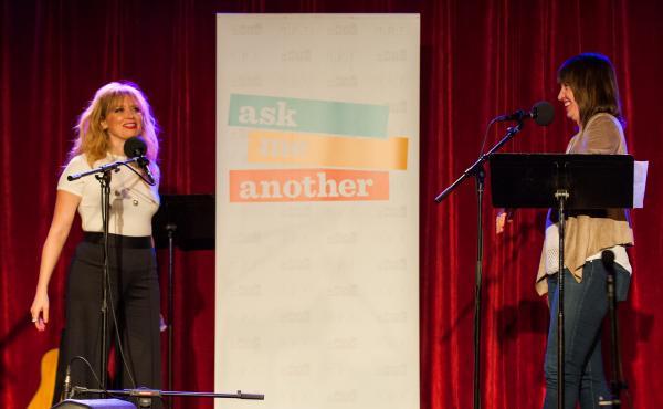 Natasha Lyonne on Ask Me Another with Ophira Eisenberg.