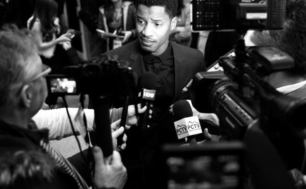 Nate Parker attends the 'The Birth Of A Nation' Premiere during the 2016 Sundance Film Festival.