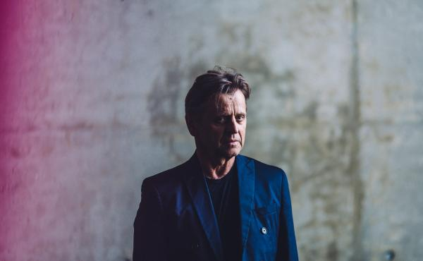 Dancer Mikhail Baryshnikov poses for a portrait at the Baryshnikov Arts Center in New York City in July. The center, a multidisciplinary practice and performance space, opened in 2005.