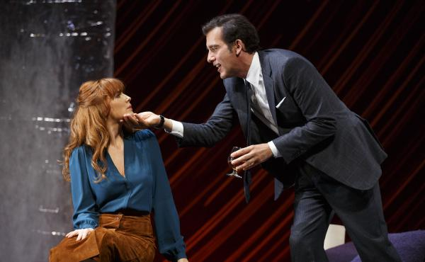 Though the Roundabout Theatre can only pay regional theater rates it's attracted stars like Liam Neeson, Natasha Richardson, Jessica Lange, Jason Robards, Liev Schreiber, and others. Above, Clive Owen and Kelly Reilly star as Deeley and Kate in the Rounda