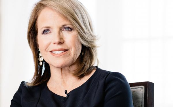Katie Couric speaks during an interview in May 2016 in Los Angeles.