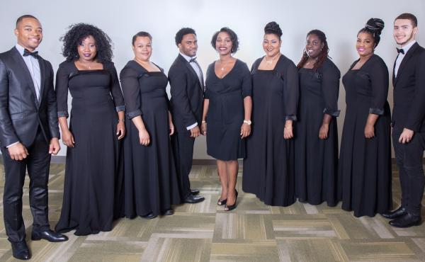 Professor Willana Mack conducts Nyack College's touring gospel ensemble, seen here. Starting in fall 2016, students at Nyack will have the option to major in gospel music performance.