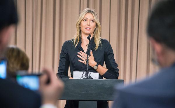 Russian tennis star Maria Sharapova isn't competing at the 2016 Olympics. At a March 7 press conference in Los Angeles, she told reporters she'd tested positive for meldonium, a prescription heart drug that improves blood flow. It was banned in January by