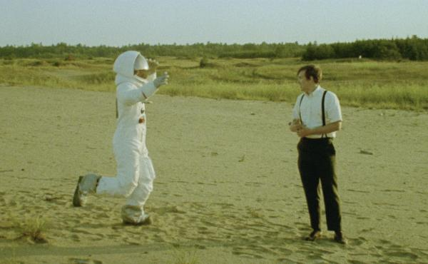 One Small Step: Owen Williams and Matt Johnson in Operation Avalanche.