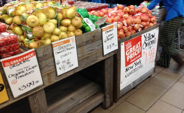 Whole Foods says its new rating system is a way to talk to farmers and customers about issues that the organic rules don't encompass, like water, energy, labor and waste.