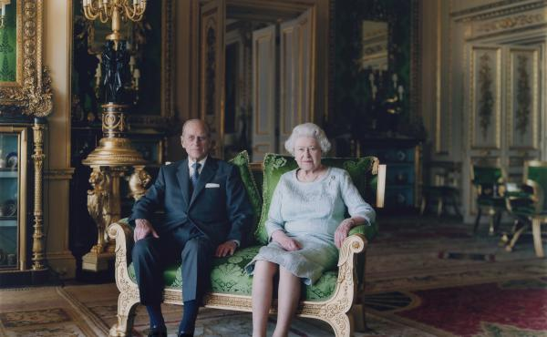 "Struth photographed Britain's Queen Elizabeth and Prince Philip in 2011. ""They were actually quite nice together,"" he says of the experience. (Pictured: Queen Elizabeth II and The Duke of Edinburgh, Windsor Castle 2011)"