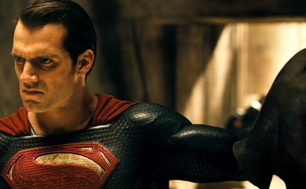 Henry Cavill as Superman in Batman v. Superman: Dawn Of Justice.