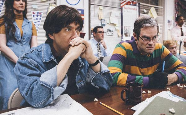 Fred Armisen and Bill Hader parody The War Room in the new season of Documentary Now!