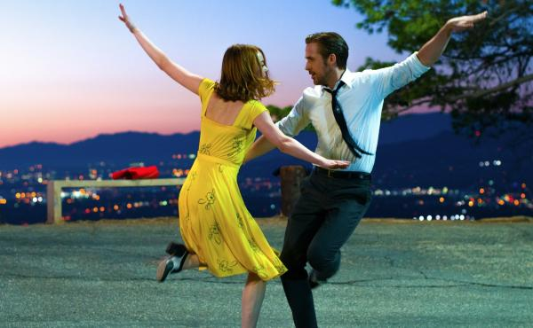 Emma Stone and Ryan Gosling in La La Land, which won the People's Choice Award at the Toronto International Film Festival.