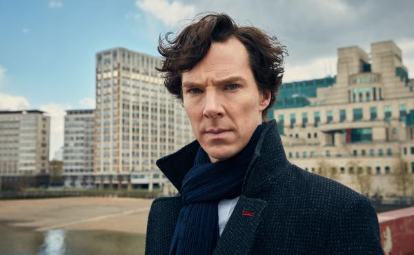 Benedict Cumberbatch plays the famed detective on Masterpiece Mystery! Presents Sherlock.