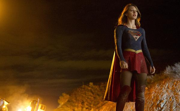 Linda and Glen look forward to watching Supergirl, the new CBS series starring Melissa Benoist.