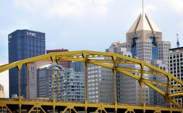 The headquarters for University of Pittsburgh Medical Center and Highmark Blue Cross/Blue Shield dominate the Pittsburgh skyline much as the organizations have dominated health care in the region for decades.