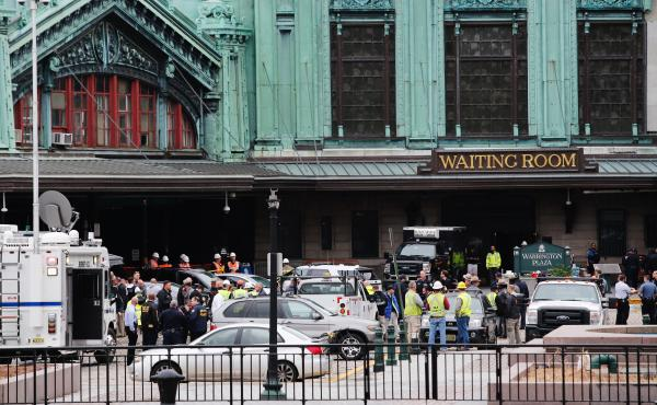 One person was killed and more than 100 injured when a New Jersey Transit train crashed into the platform at Hoboken Terminal on Sept. 29. Investigators say they have found no defect in the brakes.
