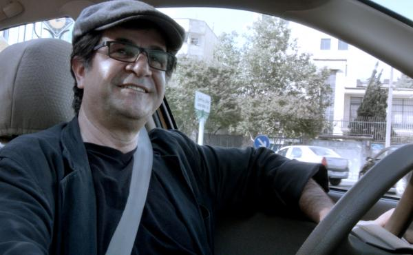 Director Jafar Panahi is a smiling and ever-sunny cab driver in his most accessible nonfilm yet.