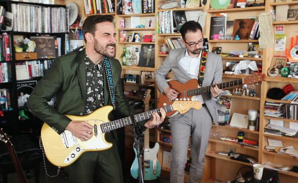 Tiny Desk Concert with Robert Ellis.