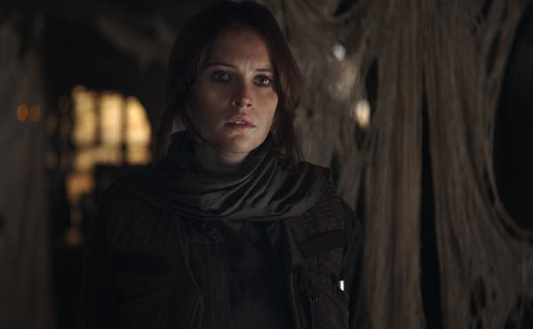 In this scene from Rogue One, Jyn Erso (Felicity Jones) is looking for her dad, who has had a hand in making a certain planet-killing super weapon you might have heard of.