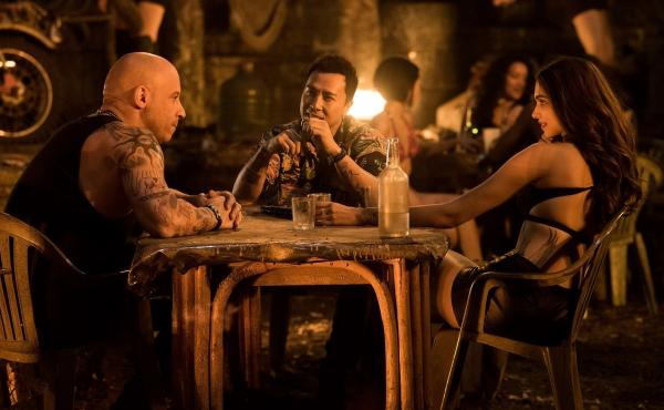 Diesel's Sweeties: Vin Diesel, Donnie Yen and Deepika Padukone in xXx: Return of Xander Cage.