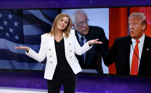 Samantha Bee's political satire Full Frontal premiered in February.
