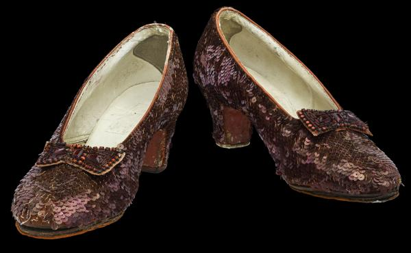 The Smithsonian is raising funds to preserve one of its most popular and iconic exhibits: a pair of Dorothy's ruby slippers.