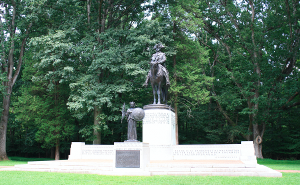 Monument to Major General Nathanael Greene of the Continental Army