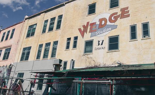 Wedge Studios in the River Arts District of Asheville, N.C.