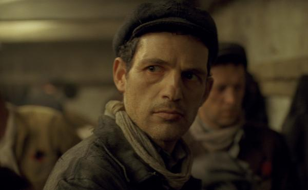 Saul (Géza Röhrig) is almost always seen in a near close-up in Son of Saul, putting you right there next to him.