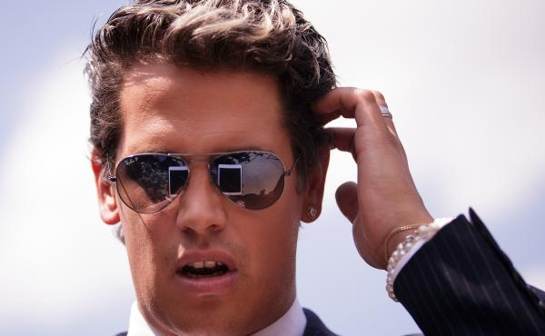 """Milo Yiannopoulos, a conservative columnist and Internet personality, confirmed that he has a book deal with Simon & Schuster, saying on his Facebook page: """"They said banning me from Twitter would finish me off. Just as I predicted, the opposite has happe"""