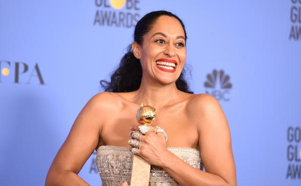 Tracee Ellis Ross won the award for Best Actress in a Comedy TV series for her role in Black-ish, at the 74th annual Golden Globe Awards on Sunday.