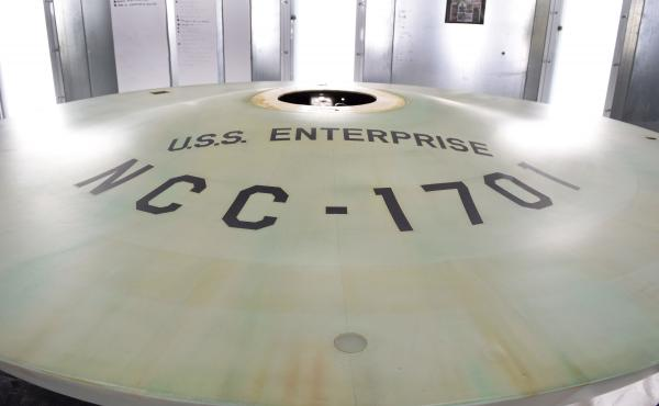 The original USS Enterprise model, from the classic Star Trek TV series, has been restored by the Smithsonian Air and Space Museum and will move to a permanent display in the museum's Boeing Milestones of Flight Hall on June 28.
