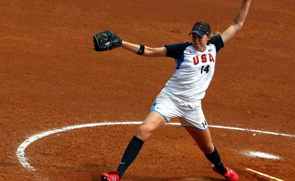 Monica Abbott also represented the U.S. in the 2008 Olympic Games in Beijing.