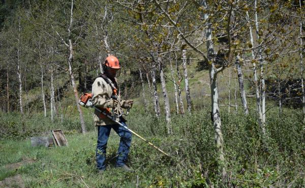 Rancher Ross Frank worries that funding to fight fires in Western communities like Chumstick, Wash., has crowded out important land management work.