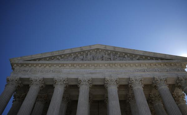 The Supreme Court of the United states ruled Monday that the total population as defined by the Census Bureau should be used when counting people for political purposes.