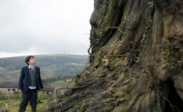 Lewis MacDougall as Connor in A Monster Calls.