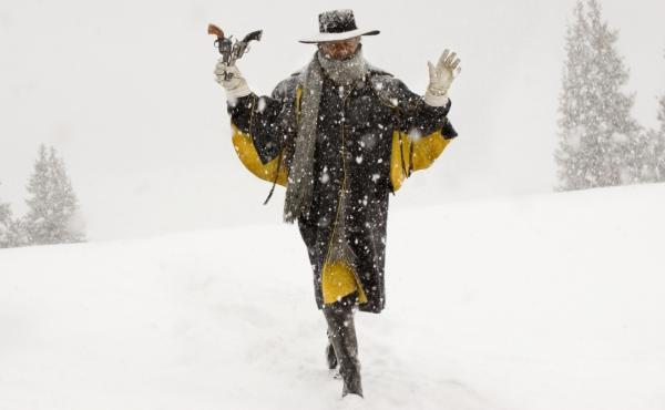 Samuel L. Jackson plays Major Marquis Warren in The Hateful Eight.