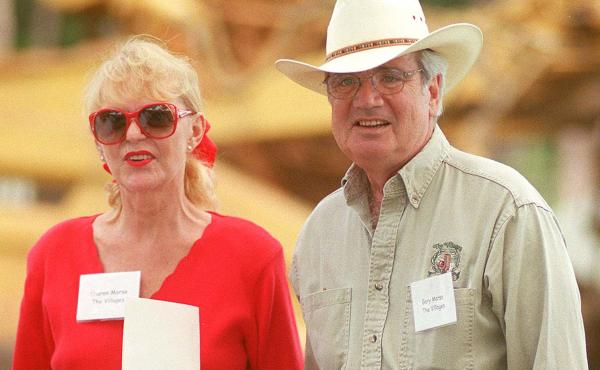 Gary Morse, with wife Sharon, in 1999. Morse transformed a mobile home park in Florida into The Villages, a retirement community of more than 100,000 residents.