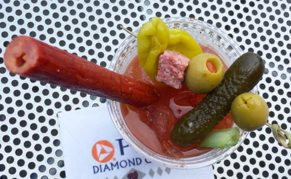 This Bloody Mary served at the Nationals Park in D.C. came with a meat straw, which infuses each sip with an umami flavor. Ben Hirko first came up with the concept while tending bar one snowy night in 2009. The straws have become a hit.