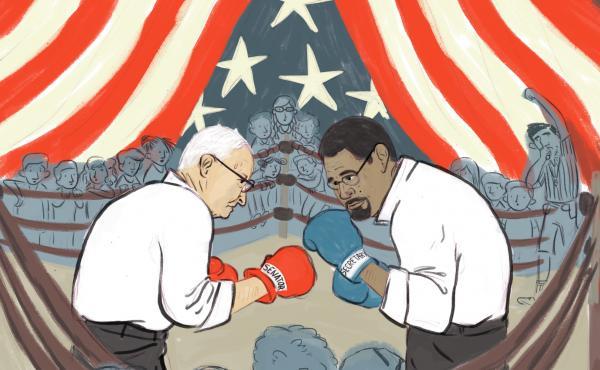 Sen. Lamar Alexander, R-Tenn., and Education Secretary John B. King Jr. in the ring over Title I enforcement.