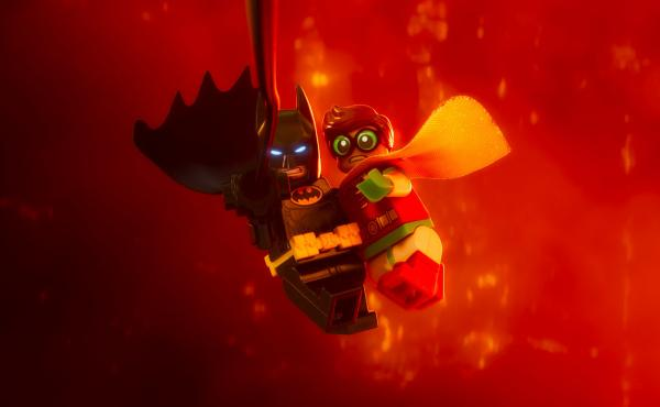 LEGO my ego: Batman (voiced by Will Arnett) learns to accept help from Robin (voiced by Michael Cera) in The LEGO Batman Movie.