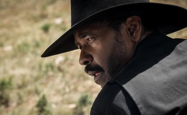 Denzel Washington stars in The Magnificent Seven.
