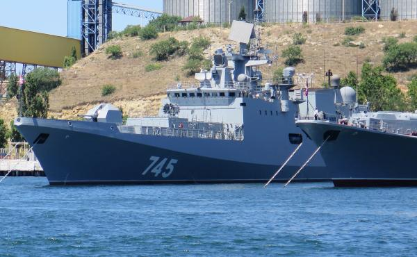 Russia recently introduced a new frigate, the Admiral Grigorovich, and invited journalists on board at the Russian base in Sevastopol, Crimea. While the Russians have had a naval base in Sevastopol since the 18th century, Russia's seizure of the entire Cr