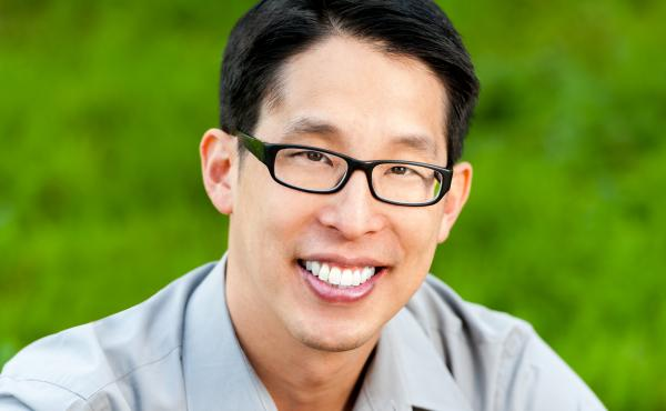 Author Gene Luen Yang is the author of books including American Born Chinese and Level Up.