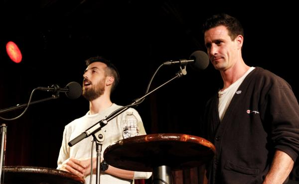 Ti West and James Ransone on Ask Me Another.