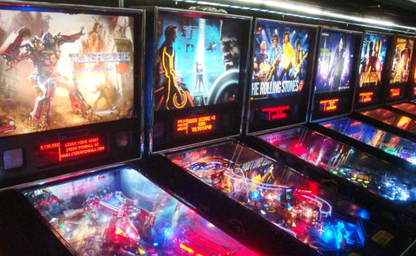 Along with a trove of vintage machines, the Museum of Pinball has a sizable collection of games based on current TV shows and movies.