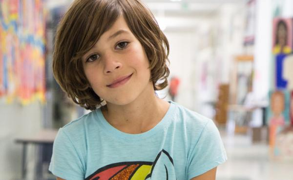 Eight-year-old Tomás Rocha, a third grader at Malcolm X Elementary School in Berkeley, Calif., is among a handful of gender non-conforming students at the school.