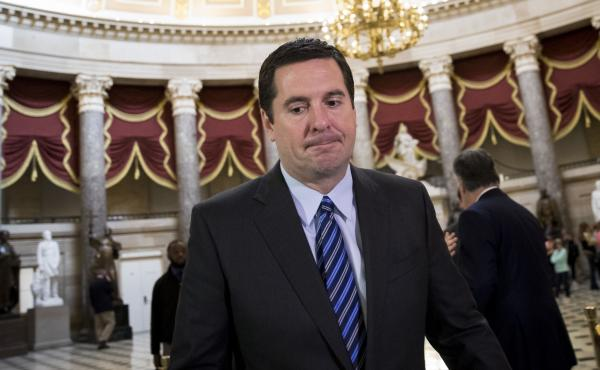 House Intelligence Committee chairman Rep. Devin Nunes, R-Calif., finds himself the center of attention after playing something of a dual role — Trump supporter and independent investigator.