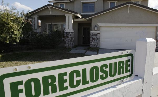 A Phoenix home for sale in 2009. Arizona had one of the nation's highest foreclosure rates during the 2008 recession.